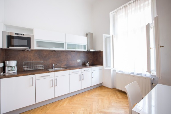Sophie's Hostel Apartment Kitchen