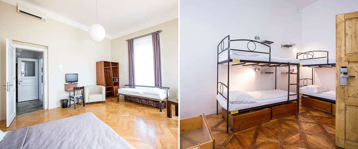 sophies hostel prague rooms